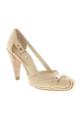 celine chaussures femme de couleur beige