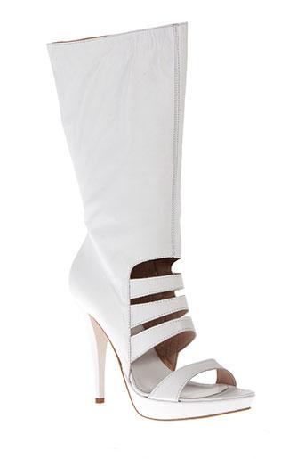 Sandales/Nu pieds blanc VERO CUIO pour femme
