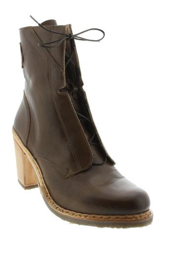 neosens bottines femme de couleur marron