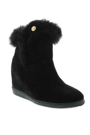 guess boots femme de couleur noir