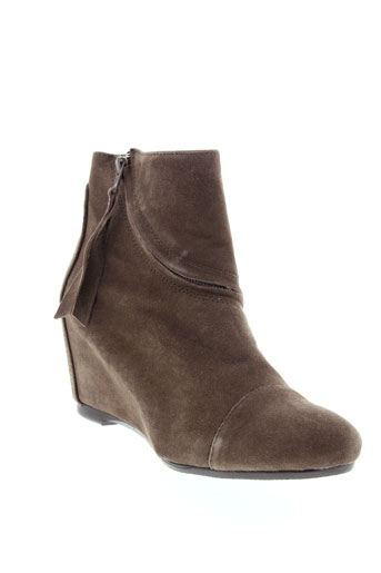 miss et margot boots femme de couleur marron