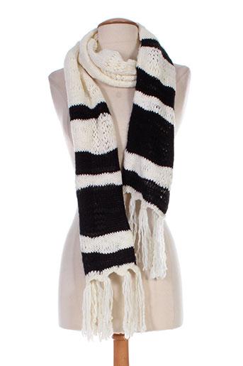 benetton echarpes et gants femme de couleur noir