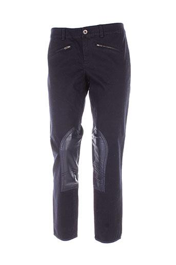 Pantalon casual bleu BENETTON pour femme