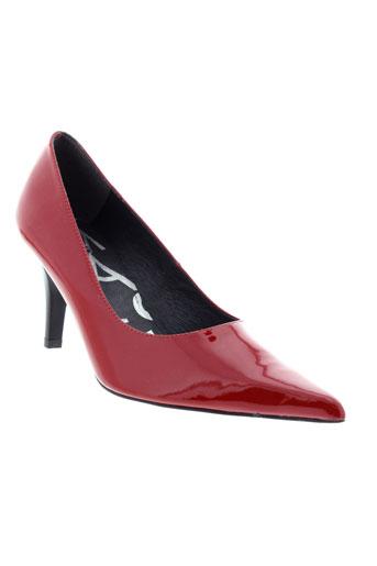 pomares vazquez chaussures femme de couleur rouge