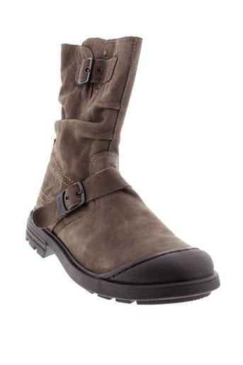 bellamy boots fille de couleur marron