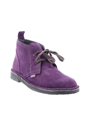 moran et s boots femme de couleur violet