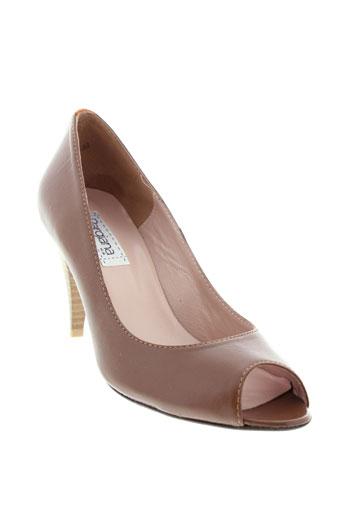 pargiana chaussures femme de couleur marron