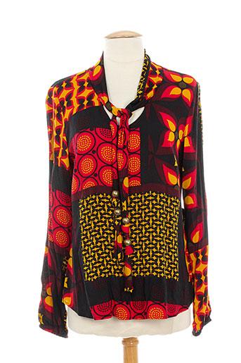 betty barclay chemises femme de couleur rouge