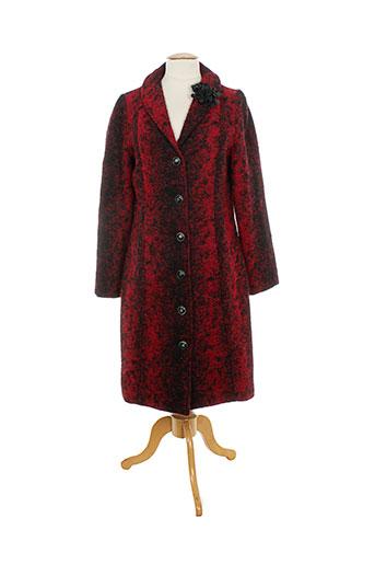 quattro manteaux femme de couleur rouge