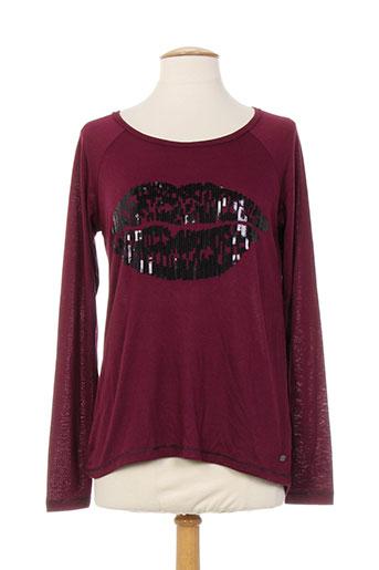 edc by esprit t et shirts et tops femme de couleur rouge