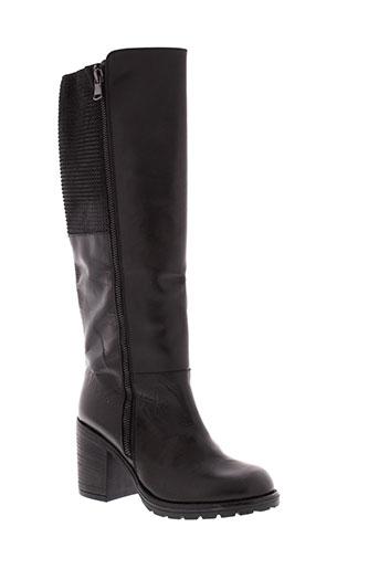 lola et espeleta bottes femme de couleur noir