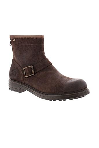 base london chaussures homme de couleur marron