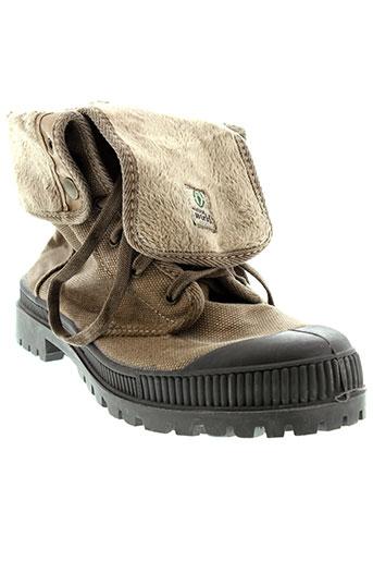 natural world chaussures homme de couleur marron