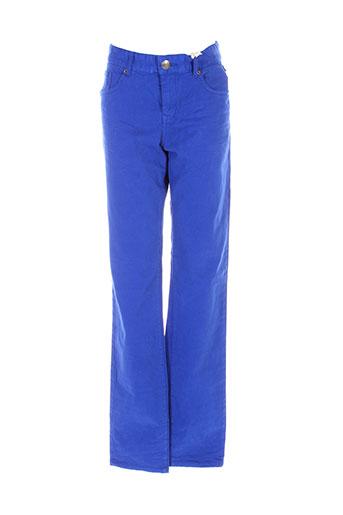 petrol industries pantalons enfant de couleur bleu