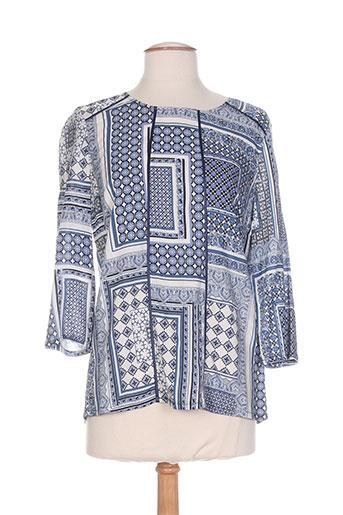 diane laury chemises femme de couleur bleu