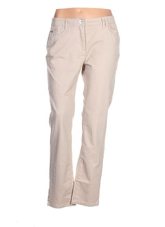 Pantalon casual beige BX pour femme