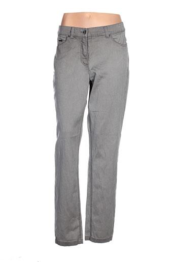 bx pantalons femme de couleur gris