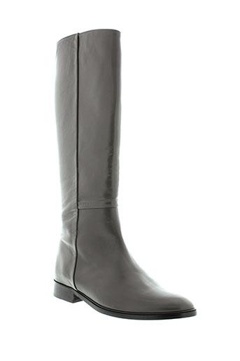 anaki bottes femme de couleur gris