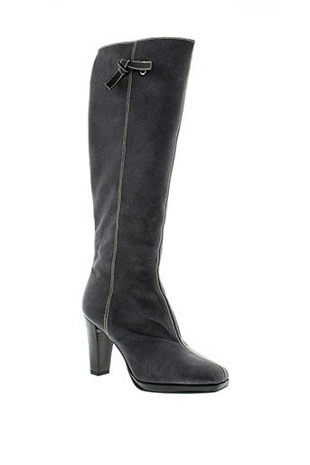 sacha et london bottes femme de couleur noir