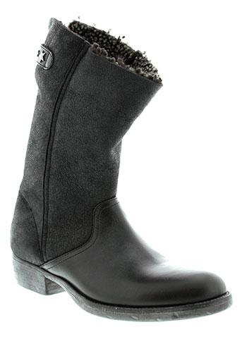 fru et it boots femme de couleur noir