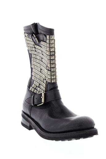 ash bottes femme de couleur noir