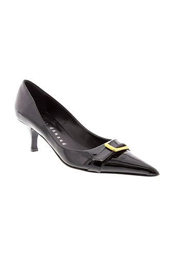 xavier et danaud escarpins femme de couleur noir