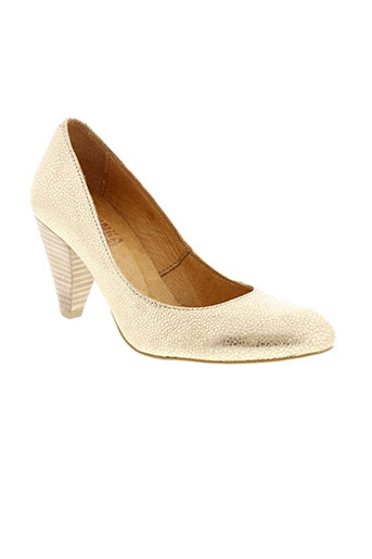 minka design chaussures femme de couleur jaune