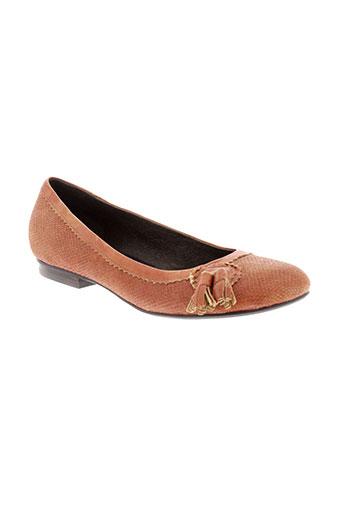 sans interdit chaussures femme de couleur orange