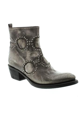 fru et it boots femme de couleur gris