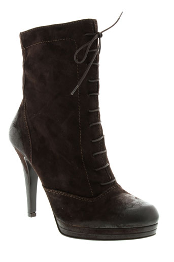 matilda bottines femme de couleur marron