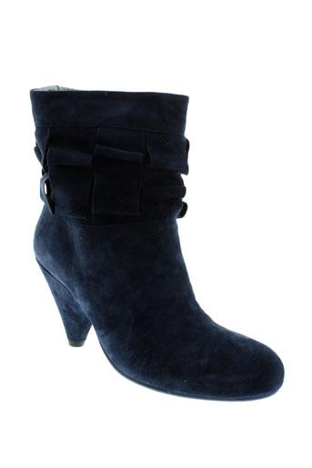 vic matie chaussures femme de couleur bleu