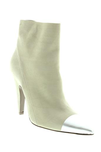 vic et matie boots femme de couleur gris