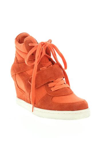 ash baskets femme de couleur orange