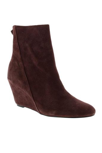 ash boots femme de couleur rouge