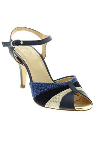 schmoove sandales et nu et pieds femme de couleur bleu