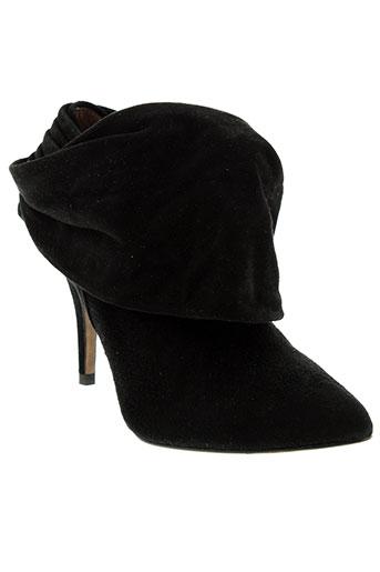 pura et lopez boots femme de couleur noir