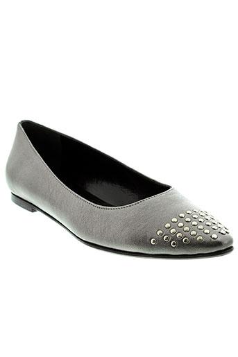 mercadal chaussures femme de couleur gris