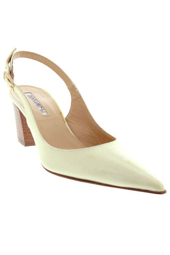 donna piu chaussures femme de couleur beige