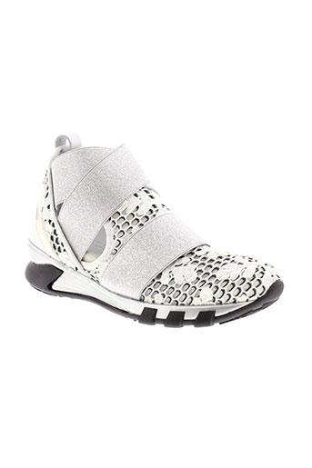 martin rey chaussures femme de couleur blanc