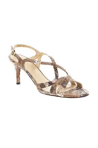stuart et weitzman sandales et nu et pieds femme de couleur beige