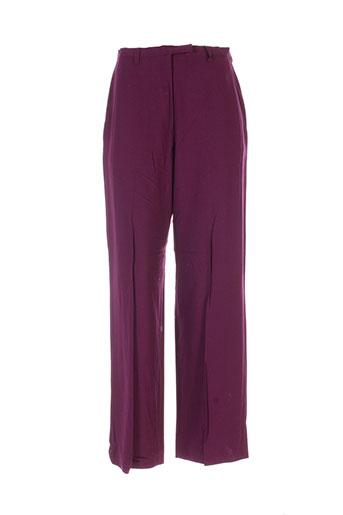 infinitif pantalons femme de couleur violet