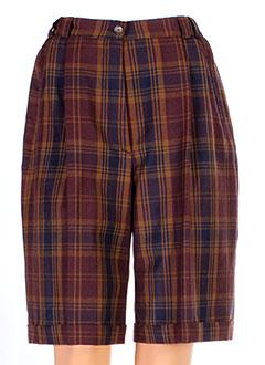 Produit-Shorts / Bermudas-Femme-BRUNO SAINT HILAIRE