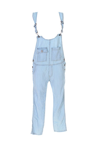 heartless jeans combinaisons femme de couleur bleu
