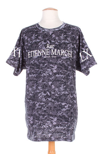 seven tees t-shirts homme de couleur gris
