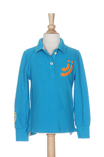 jn-joy t-shirts fille de couleur bleu