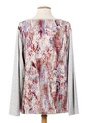 T-shirt manches longues gris JEAN GABRIEL pour femme seconde vue
