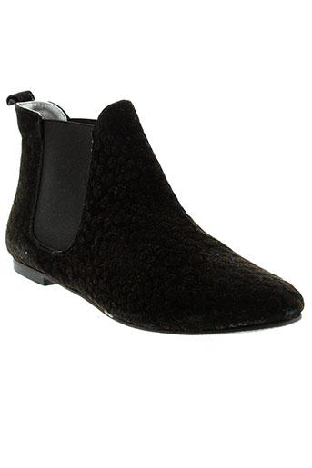 ippon et vintage boots femme de couleur noir