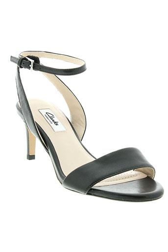 clarks chaussures femme de couleur noir