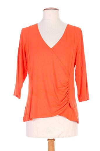 pier bé t et shirts et tops femme de couleur orange