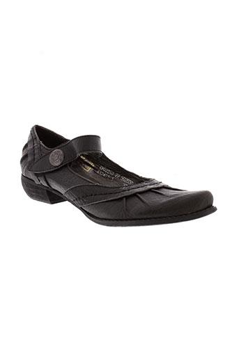 tkl chaussures femme de couleur noir